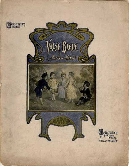Sheet Music - Valse bleue