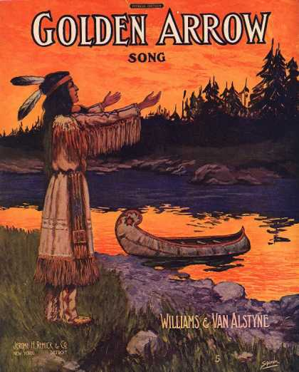 Sheet Music - Golden arrow