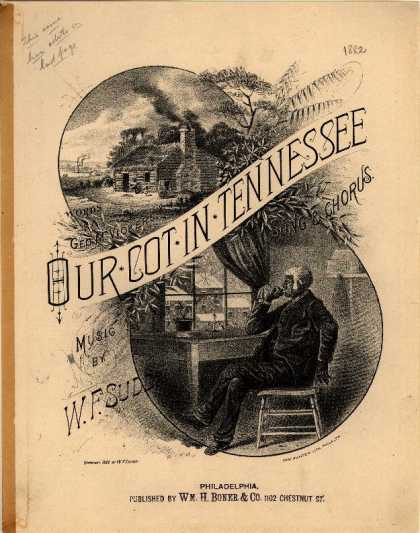 Sheet Music - Our cot in Tennessee