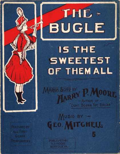 Sheet Music - The bugle is the sweetest of them all