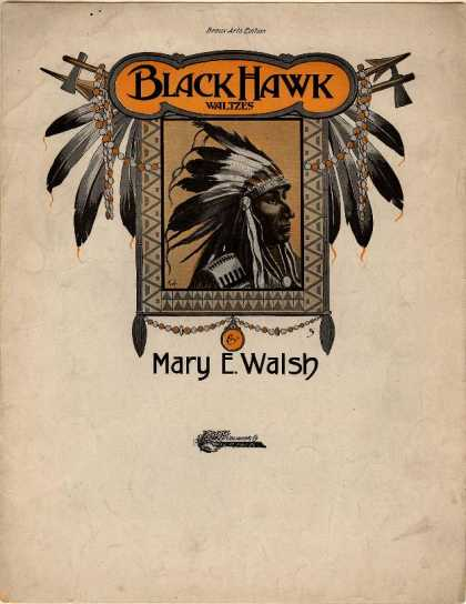 Sheet Music - Black Hawk waltzes