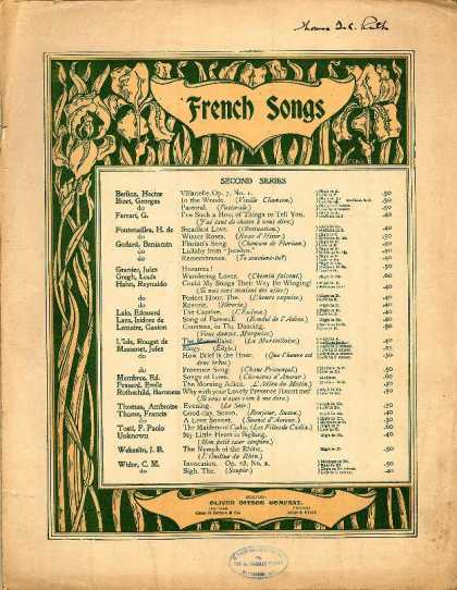 Sheet Music - The Marseillaise; La Marseillaise; French national hymn