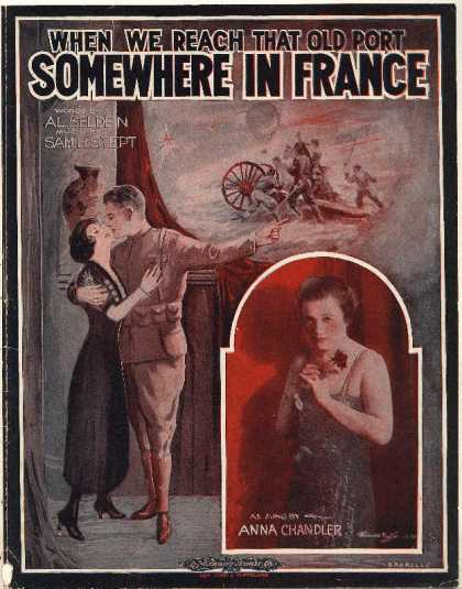 Sheet Music - When we reach that old port somewhere in France