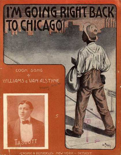 Sheet Music - I'm going right back to Chicago