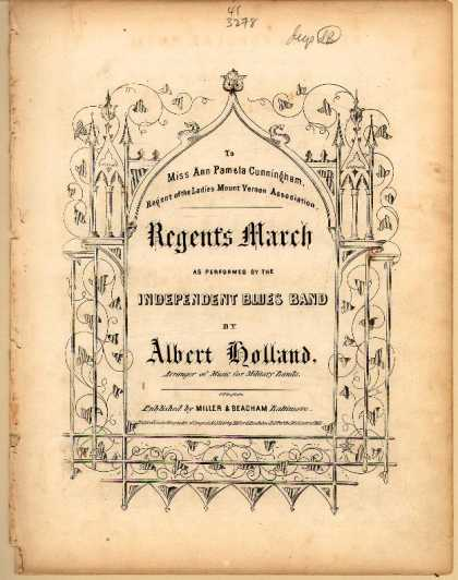 Sheet Music - Regent's march