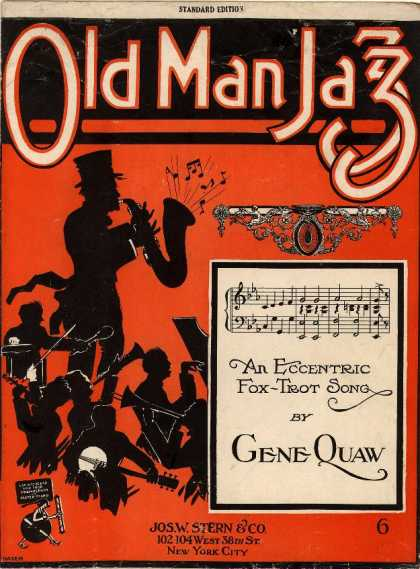 Sheet Music - Old man jazz; An eccentric fox trot song
