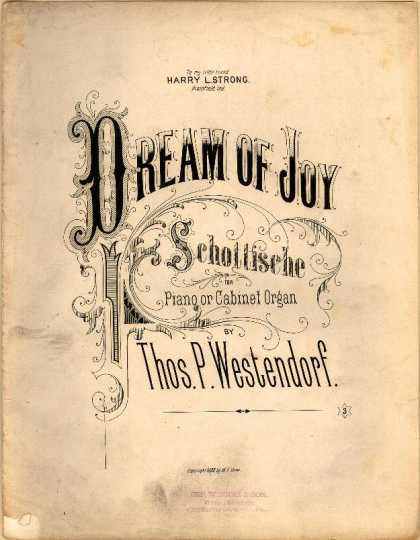 Sheet Music - Dream of joy schottische