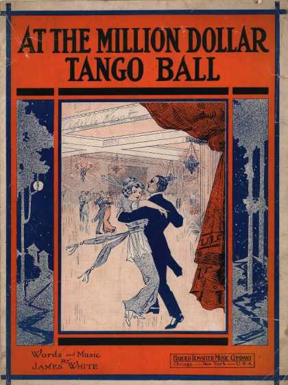 Sheet Music - At the million dollar tango ball