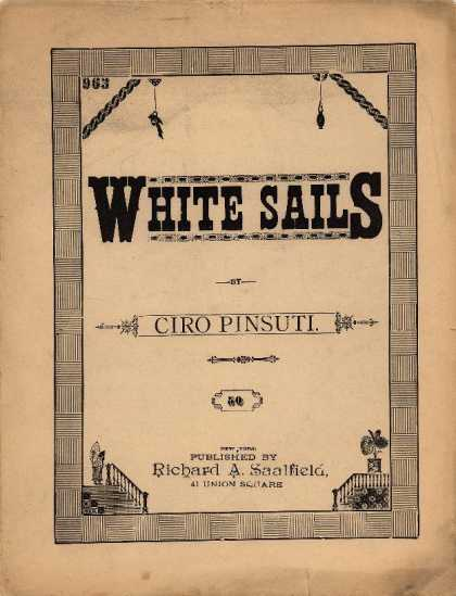 Sheet Music - White sails