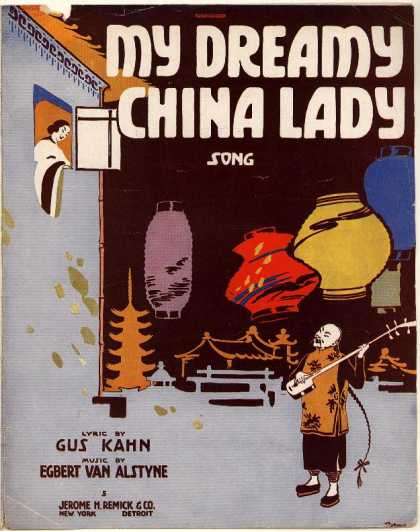 Sheet Music - My dreamy China lady