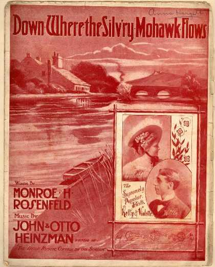 Sheet Music - Down where the silv'ry mohawk flows