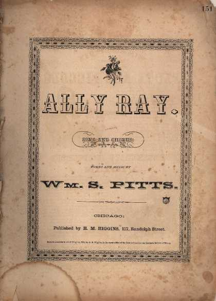 Sheet Music - Ally Ray