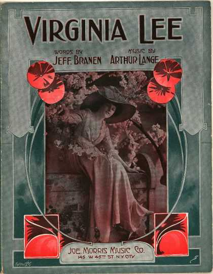 Sheet Music - Virginia Lee
