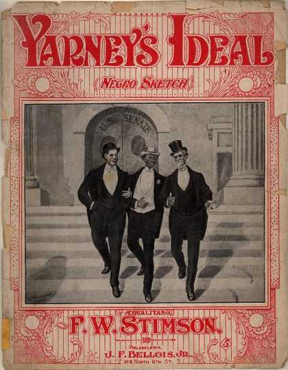 Sheet Music - Yarney's ideal; Negro sketch; Aequalitas