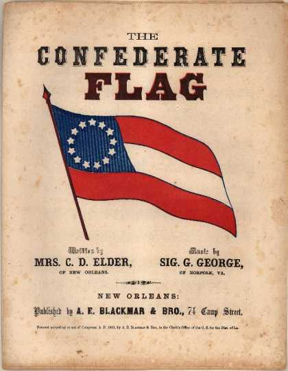 Sheet Music - Confederate flag