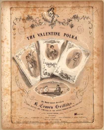 Sheet Music - The valentine polka