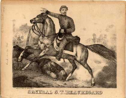 Sheet Music - Beauregard Bull Run quick step; General G.T. Beauregard