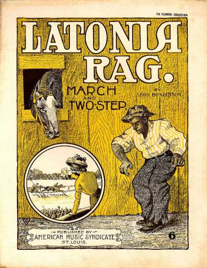 Sheet Music - Latonia rag; March and two-step