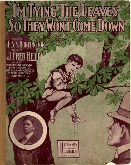 Sheet Music - I'm tying the leaves so they won't come down