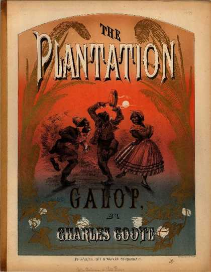 Sheet Music - Plantation galop; Billy Paterson; Peter Gray