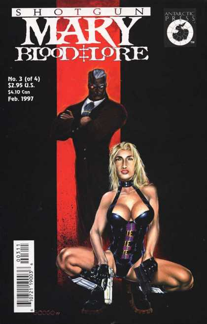 Shotgun Mary: Blood Lore 3 - 3 - No 3 - Anarctic Press - Comic - Feb 1997 - Neil Googe