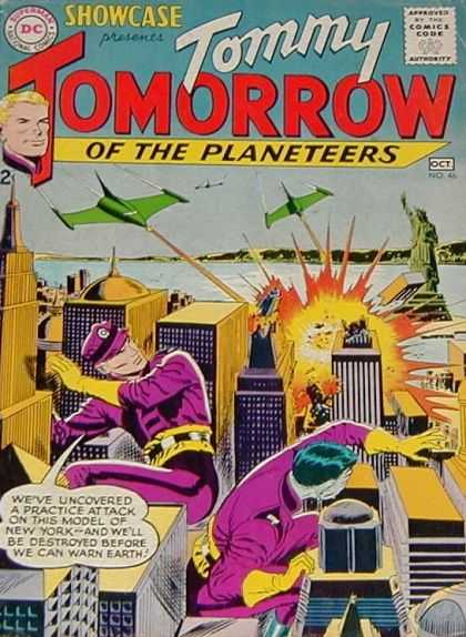 Showcase 46 - Dc - Tommy Tomorrow Of The Planeteers - Oct No45 - 2