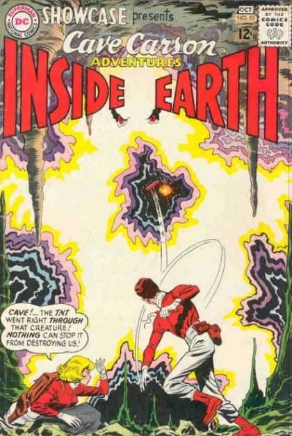 Showcase 52 - Inside Earth - Adventures - Cave - Tnt - Creature - Lee Elias