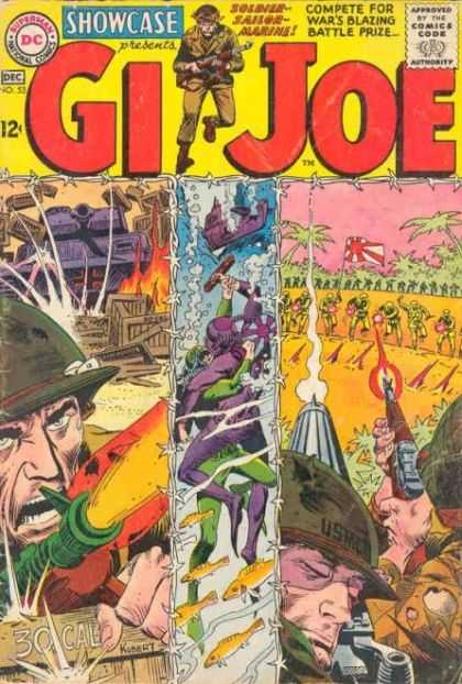 Showcase 53 - Gi Joe - December - No 53 - Green Hat - Brown Uniform - Joe Kubert