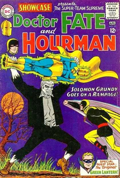 Showcase 55 - Dc - Doctor Fat - Hourman - Solomon - Full Moon - Murphy Anderson