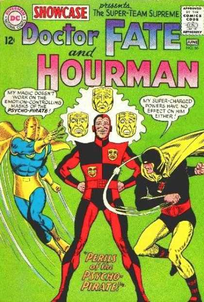 Showcase 56 - Doctor Fate - Hourman - Psycho-pirate - Super-charged - Super-team - Murphy Anderson