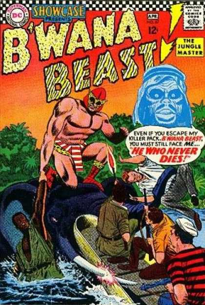 Showcase 67 - Bwana Beast - The Jungle Master - He Who Never Dies - Tusk - Blue Head