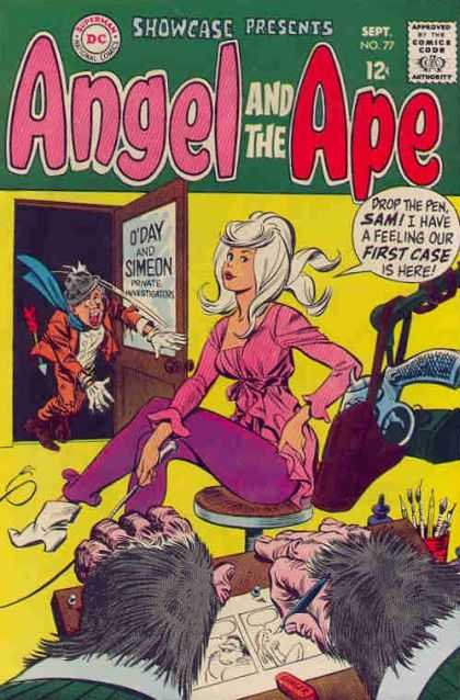 Showcase 77 - Angel And The Ape - September - No 77 - Dc Comics - Showcase - Bob Oksner