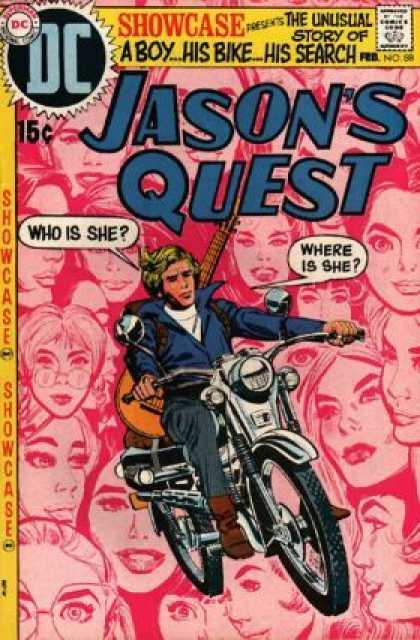 Showcase 88 - Unusual - Story - Bike - Search - Faces - Dick Giordano