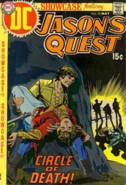 Showcase 90 - Jason Quest - Rescue - Circle Of Death - Motorcycle - Dc - Dick Giordano