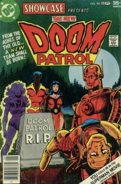 Showcase 94 - Dc - September - Full Moon - 35 Cents - Doom Patrol - Jim Aparo
