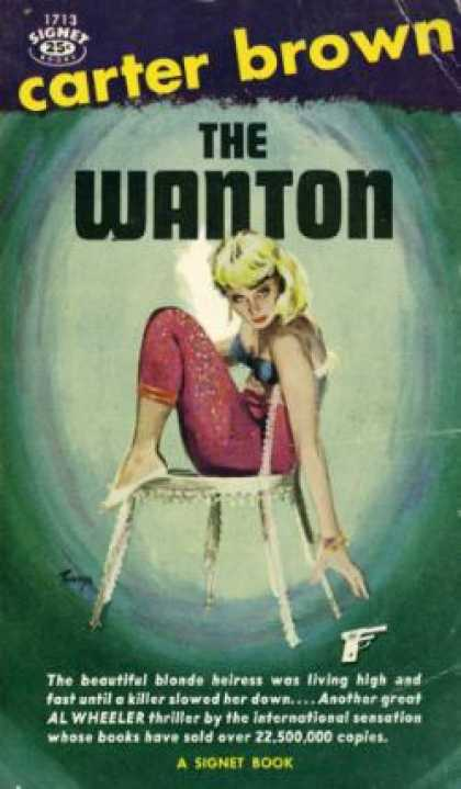 Signet Books - The Wanton - Carter Brown