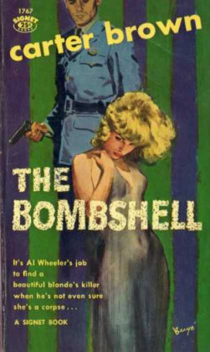 Signet Books - The Bombshell - Carter Brown