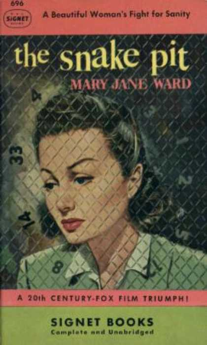 Signet Books - Snake Pit, the (signet 696) - Mary Jane Ward