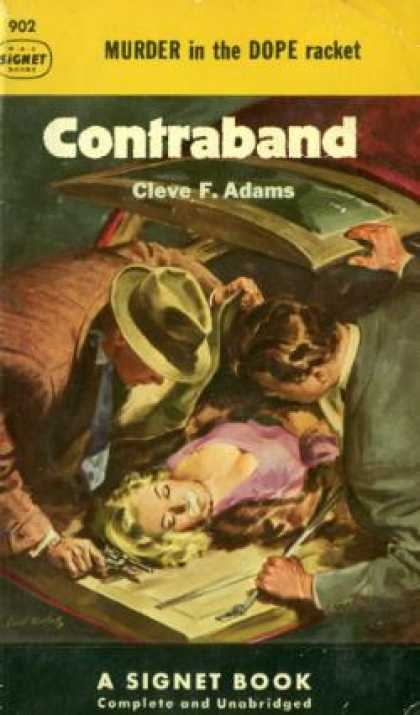 Signet Books - Contraband - Cleve F. Adams
