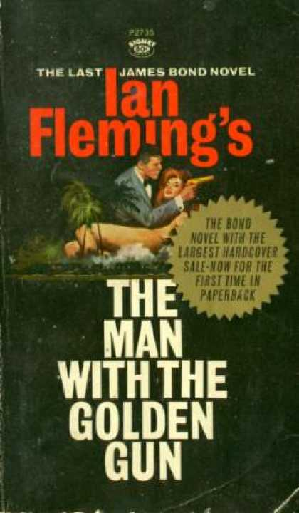 Signet Books - The Man With the Golden Gun - Ian Fleming