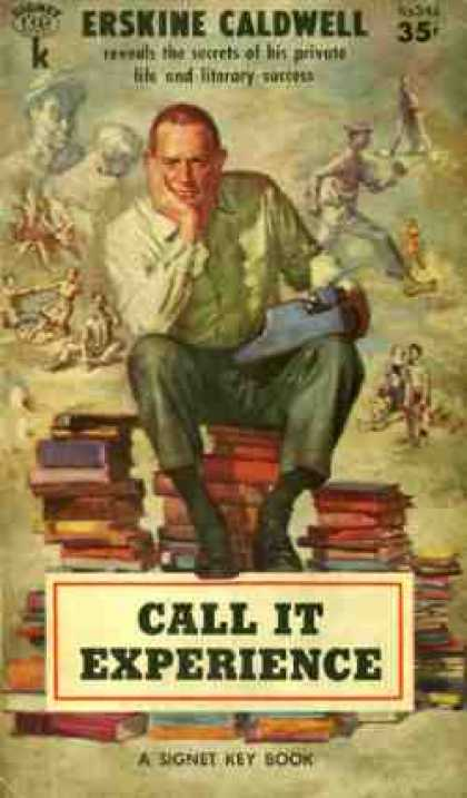 Signet Books - Call It Experience - Erskine Caldwell