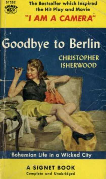 Signet Books - Goodbye at Berlin - Christopher Isherwood