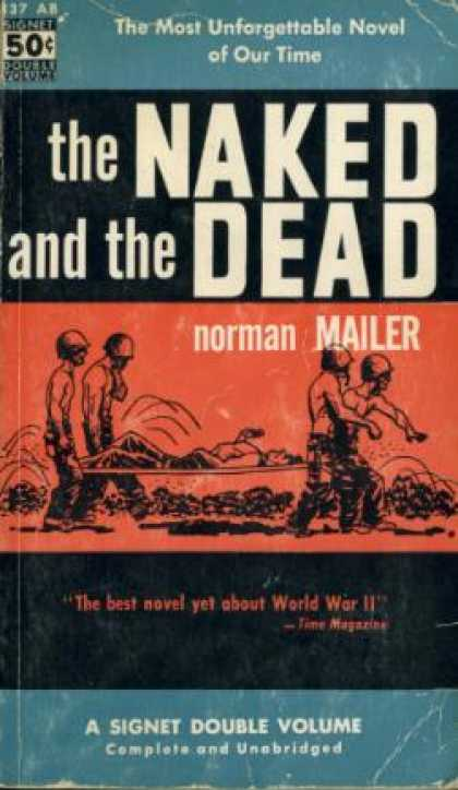 Signet Books - The Naked and the Dead