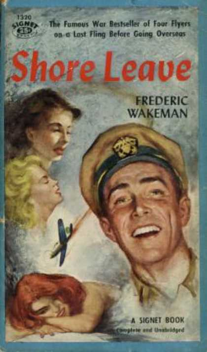 Signet Books - Shore leave - Frederic Wakeman