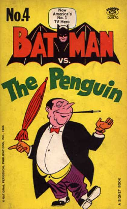 Signet Books - Batman Vs. the Penguin