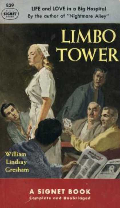 Signet Books - Limbo Tower - William Lindsay Greham