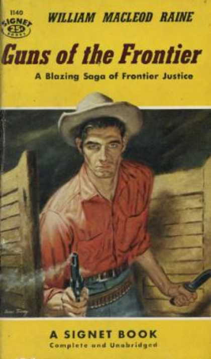 Signet Books - Guns of the Frontier - William Macleod Raine