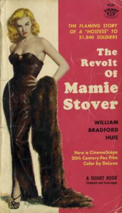 Signet Books - The Revolt of Mamie Stover