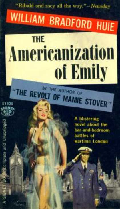 Signet Books - Americanization of Emily - William Bradford Huie
