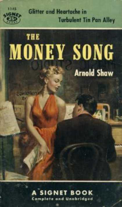 Signet Books - The Money Song - Arnold Shaw